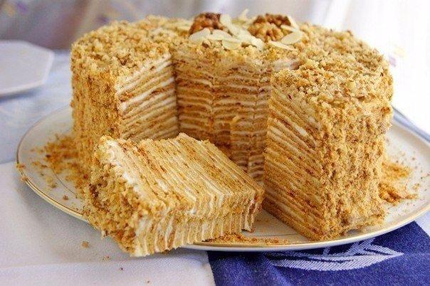 Торт «Пизанская башня» Ингредиенты: Масло сливочное –