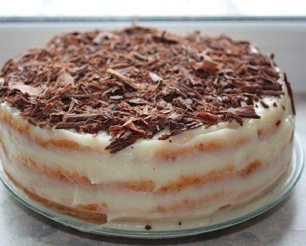 Творожный торт на сковороде Ингредиенты: 1 яйцо