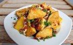 Запеченный картофель с беконом Ингредиенты: 1,2 кг