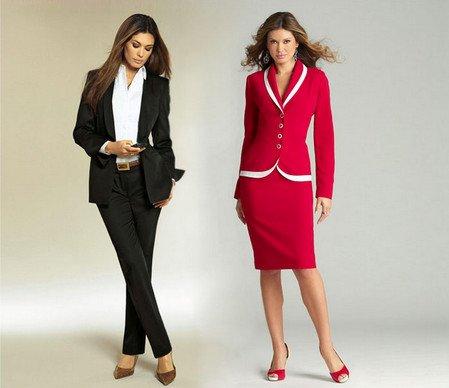 Как выбрать женщине деловой костюм?