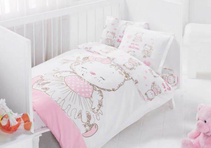 Как выбрать постельное белье для детской кроватки